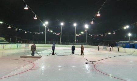 Хоккейный корт Северобайкальска