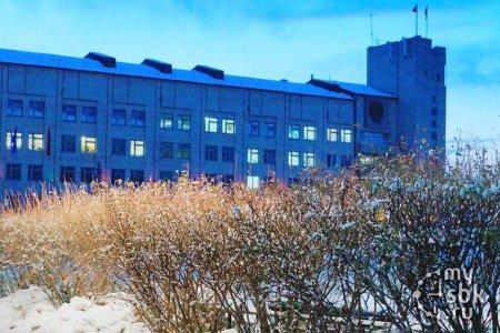 Здание городской администрации Северобайкальска